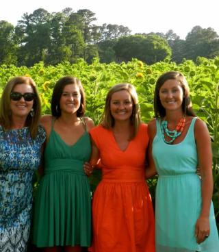 Strandberg girls at Rascoe Wedding June 2013